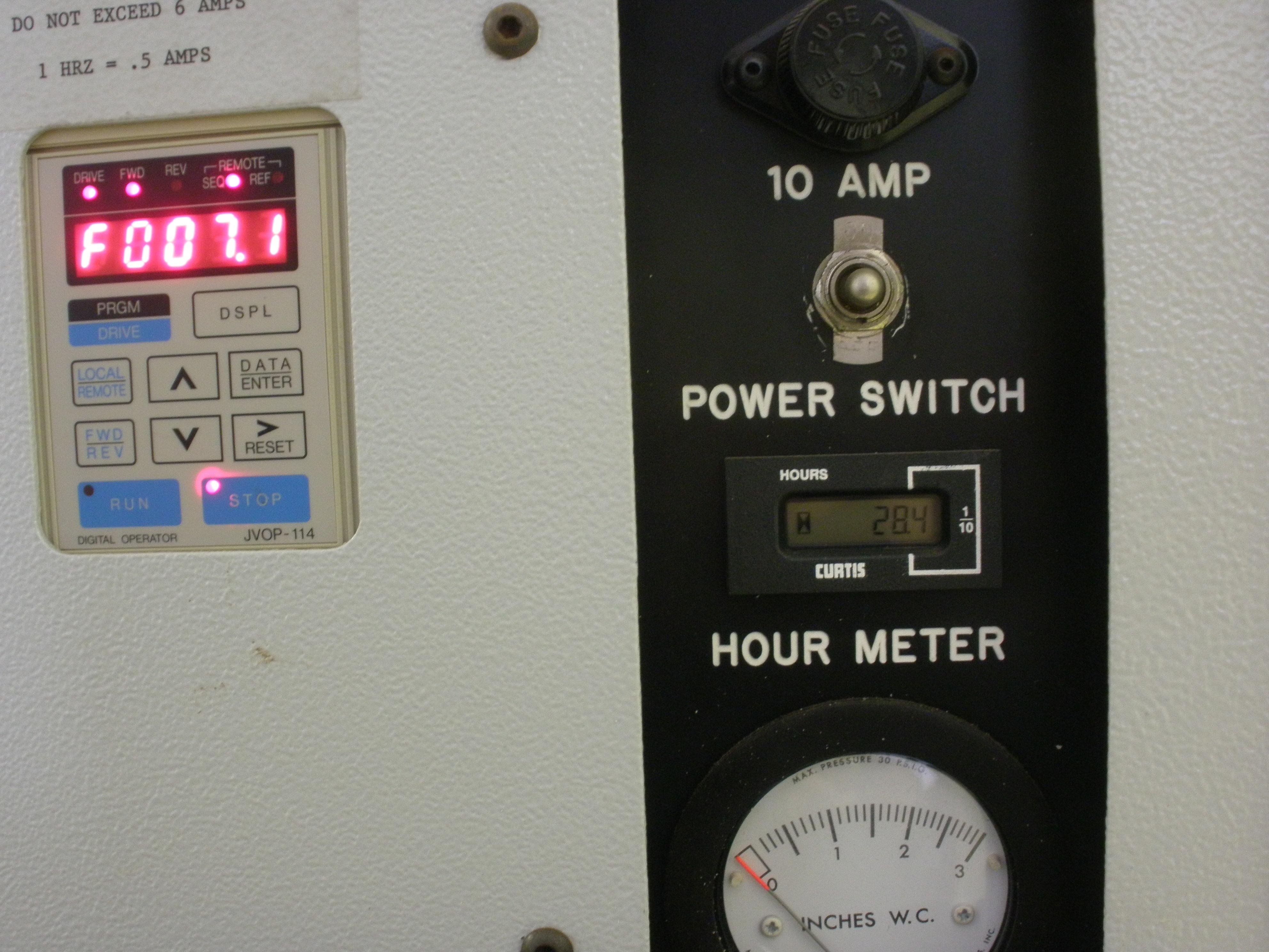 vfd-control-panel