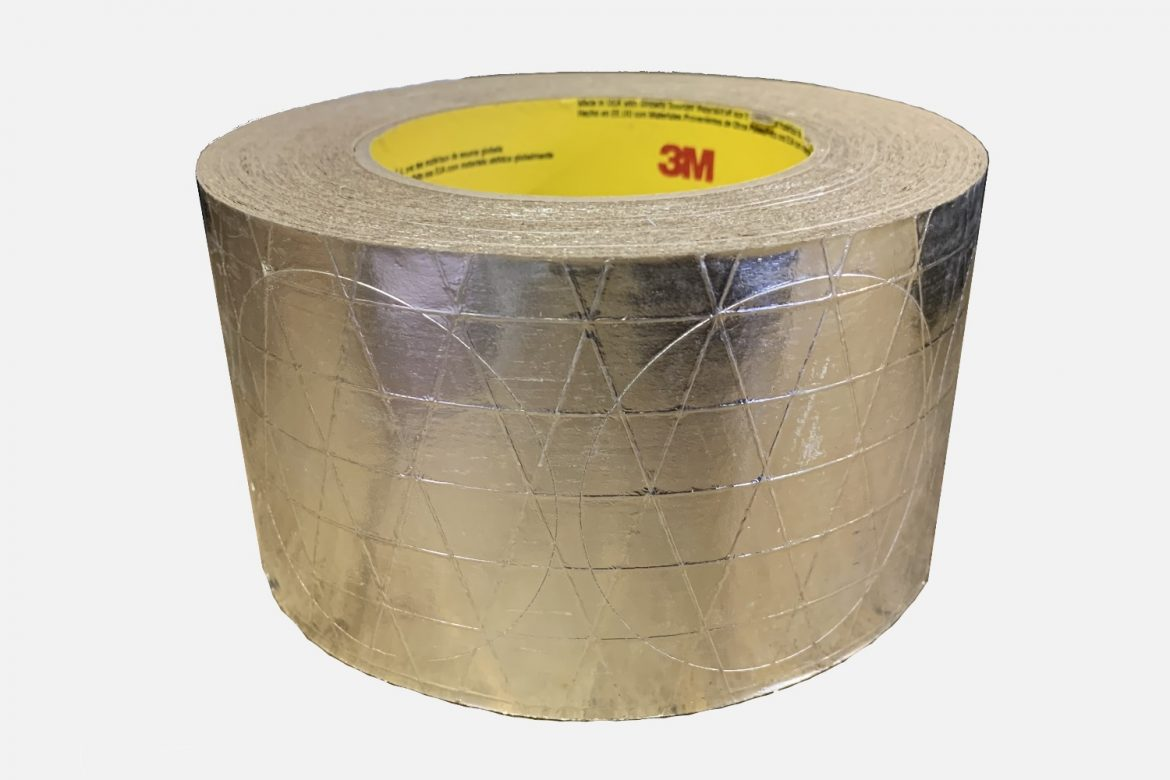 ROLL OF UL TAPE W/500 2 IN TAPE DISCS