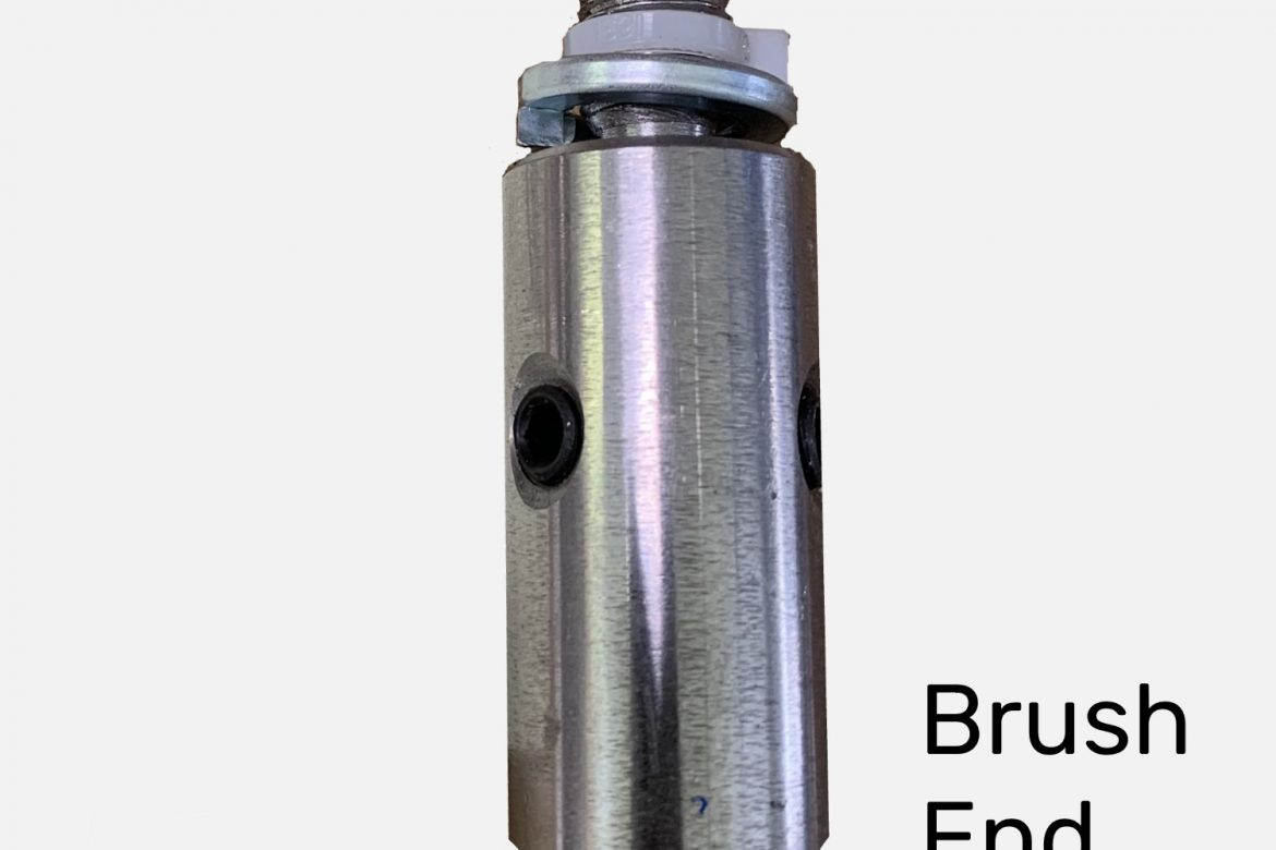 CONNECTOR—BRUSH END