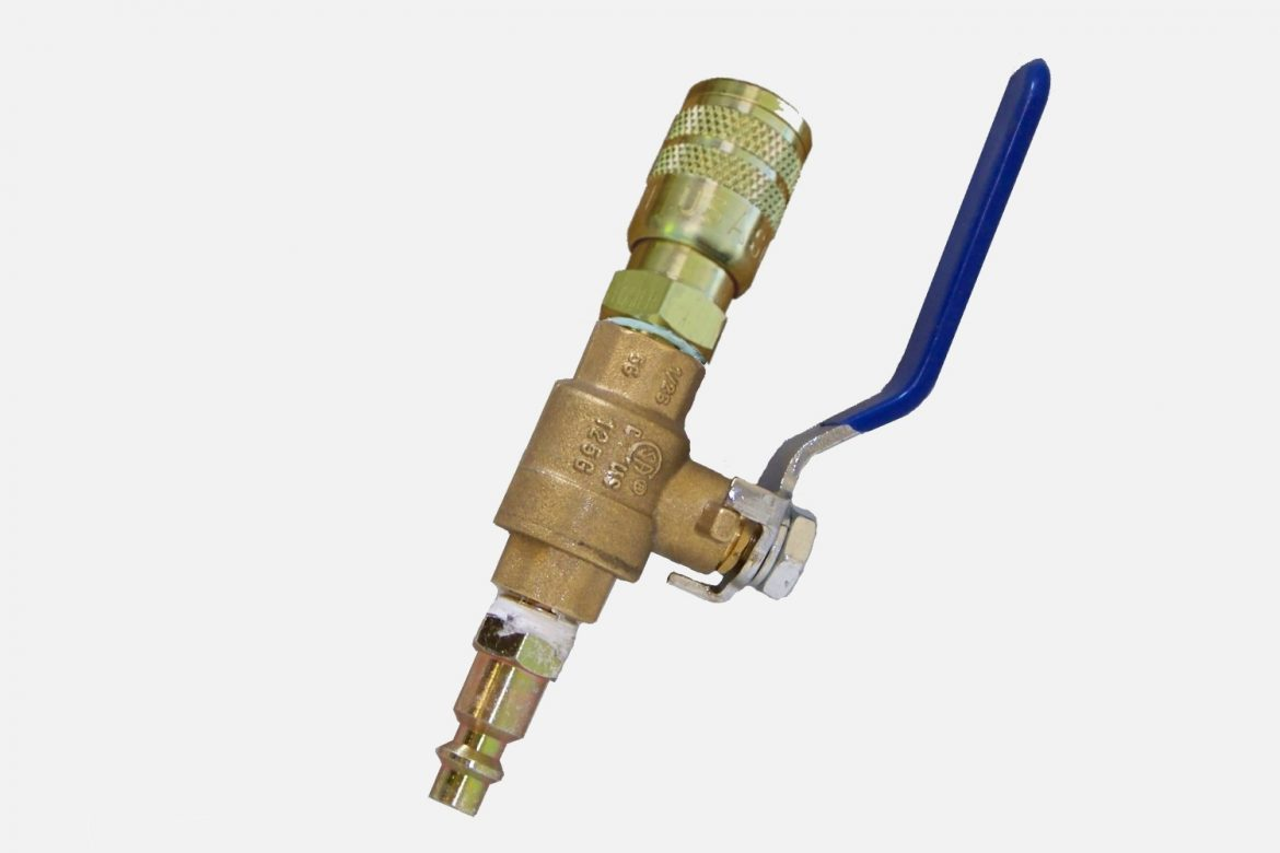 BALL VALVE ON/OFF CONTROL ASSEMBLY