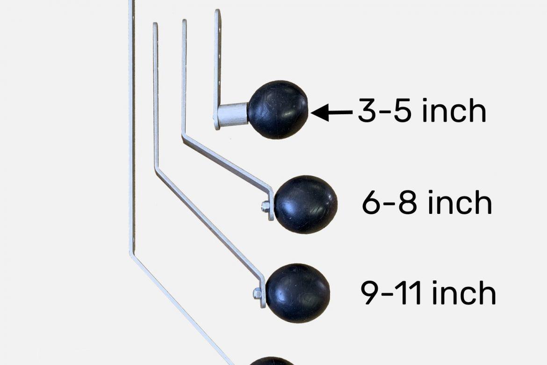 3 IN – 5 IN GUIDE LEG