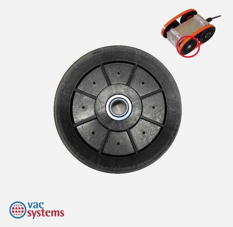 NON-DRIVE WHEEL FOR SUPER TRAC ROBOT