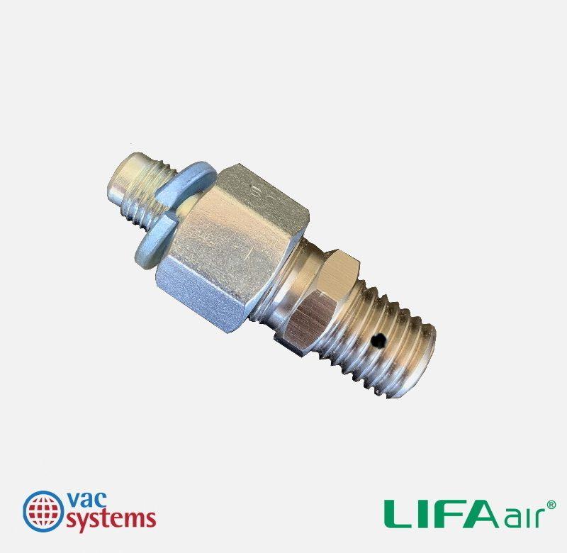 VAC SYSTEMS BRUSH TO LIFA SHAFT ADAPTER