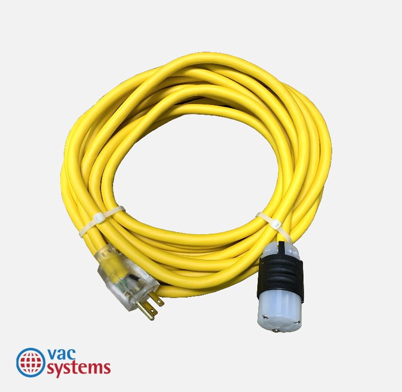 25 FOOT YELLOW POWER CORD (110V) FOR SC1.5, E-MAX