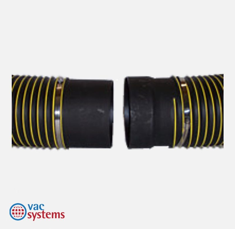 8 INCH PLASTIC SUCTION HOSE CONNECTOR