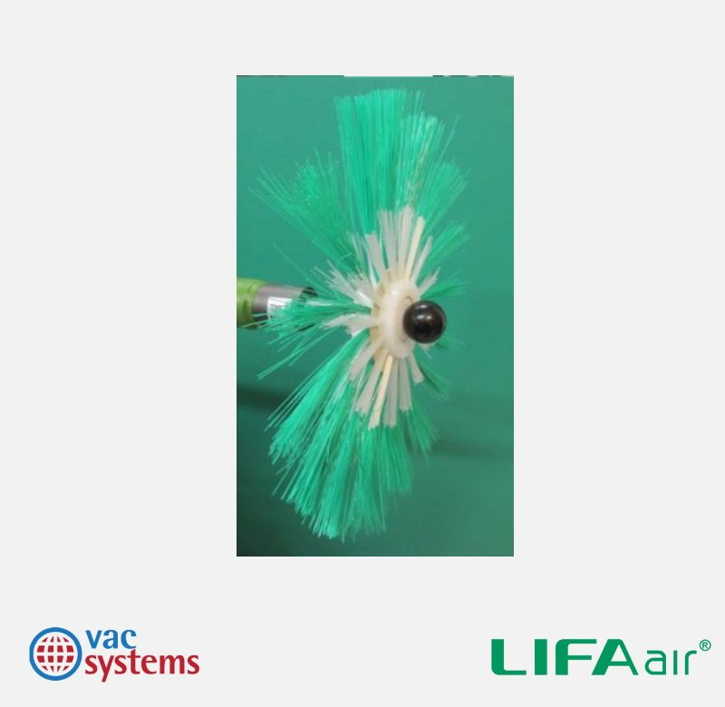 LIFA - 51-59 INCH (1,300-1,500 MM) SOFT COMBO BRUSH WITH NYLON CENTER AND DISK