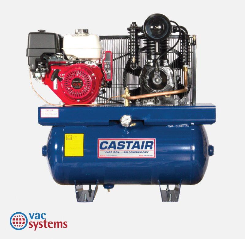 C9 AIR COMPRESSOR (GAS POWERED), 9 HP, 30 GAL